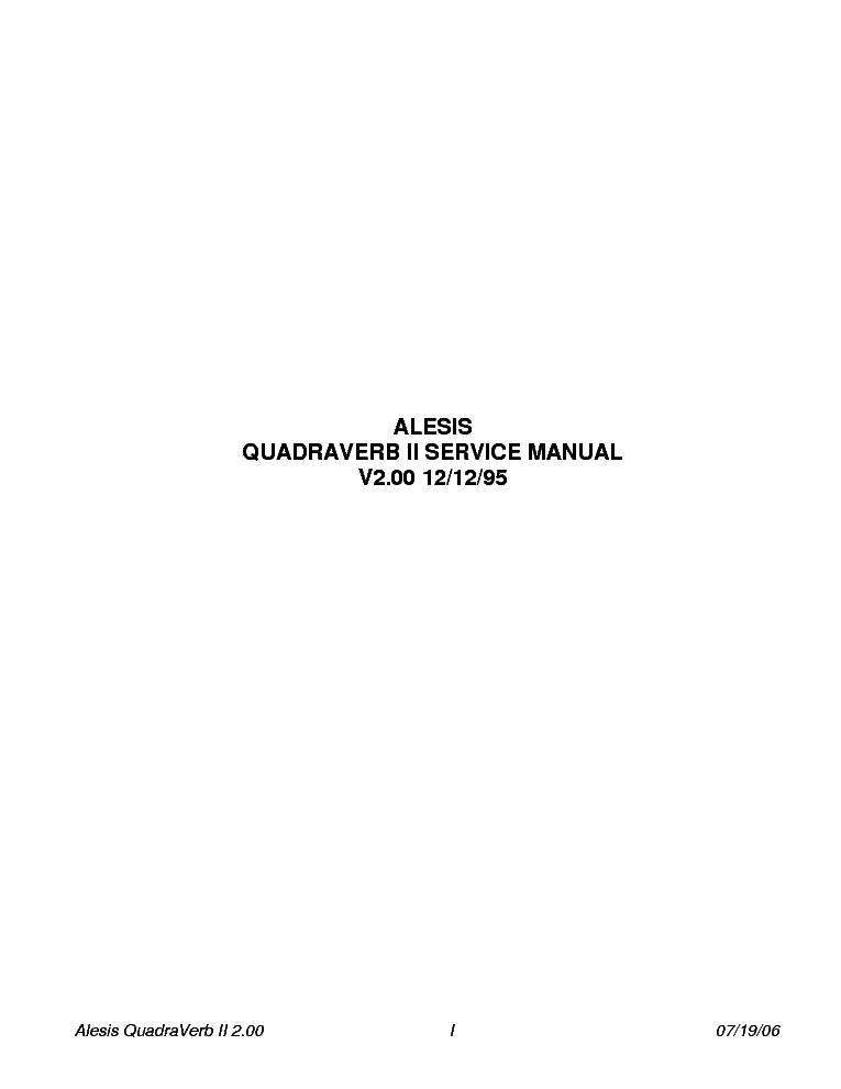 alesis multimix 16 usb manual