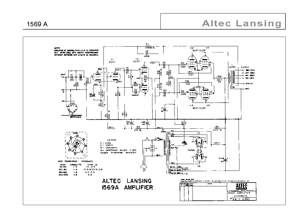 wiring diagram altec 9   22 wiring diagram images