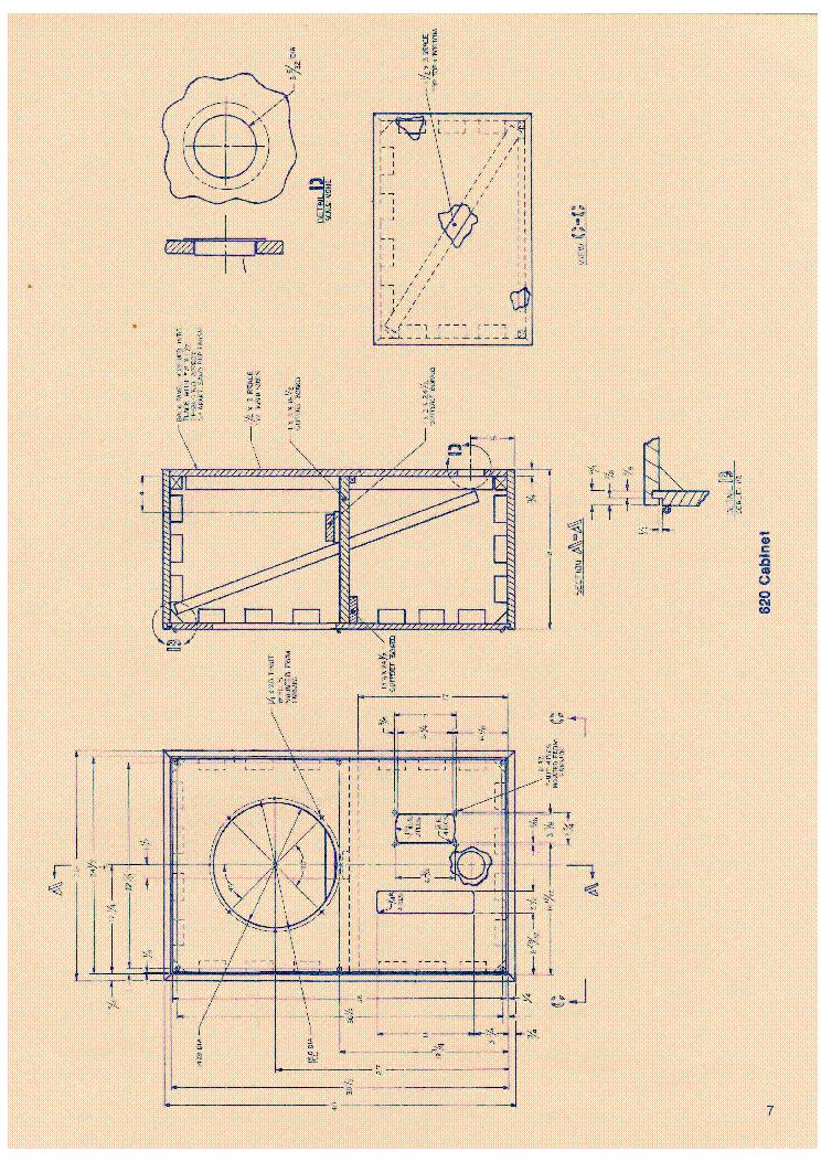Altec Lansing 620 Cabinet For Loudspeaker System Hangfal