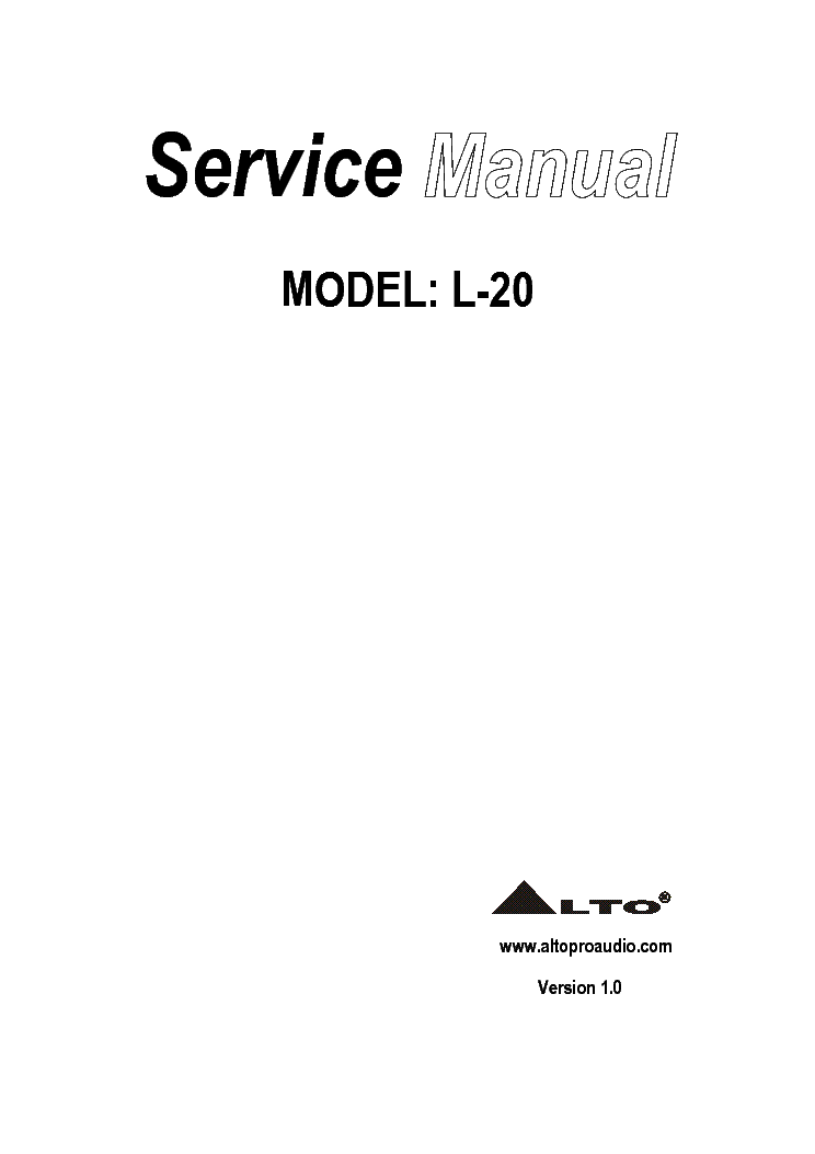 alto l 20 service manual download schematics eeprom repair info rh elektrotanya com auto service manuals free auto service manual software