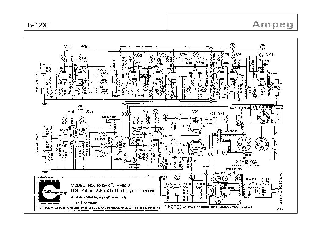ampeg b12
