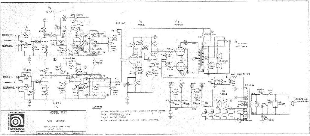 Ampeg B25 Manual