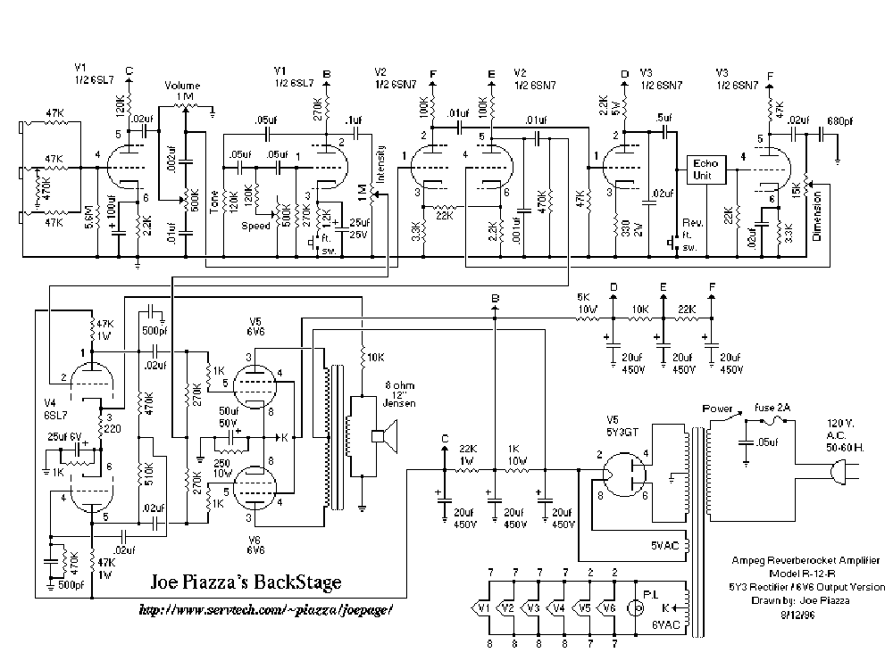 Hope, you Vintage ampeg schematics
