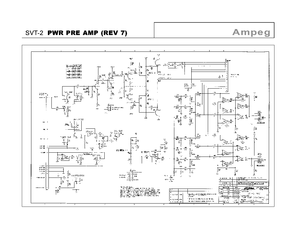 Ampeg service Manuals