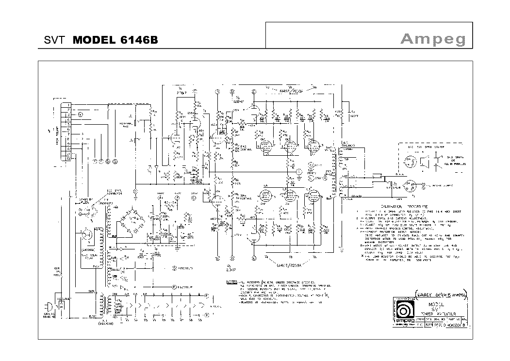 The expert, Vintage ampeg schematics apologise