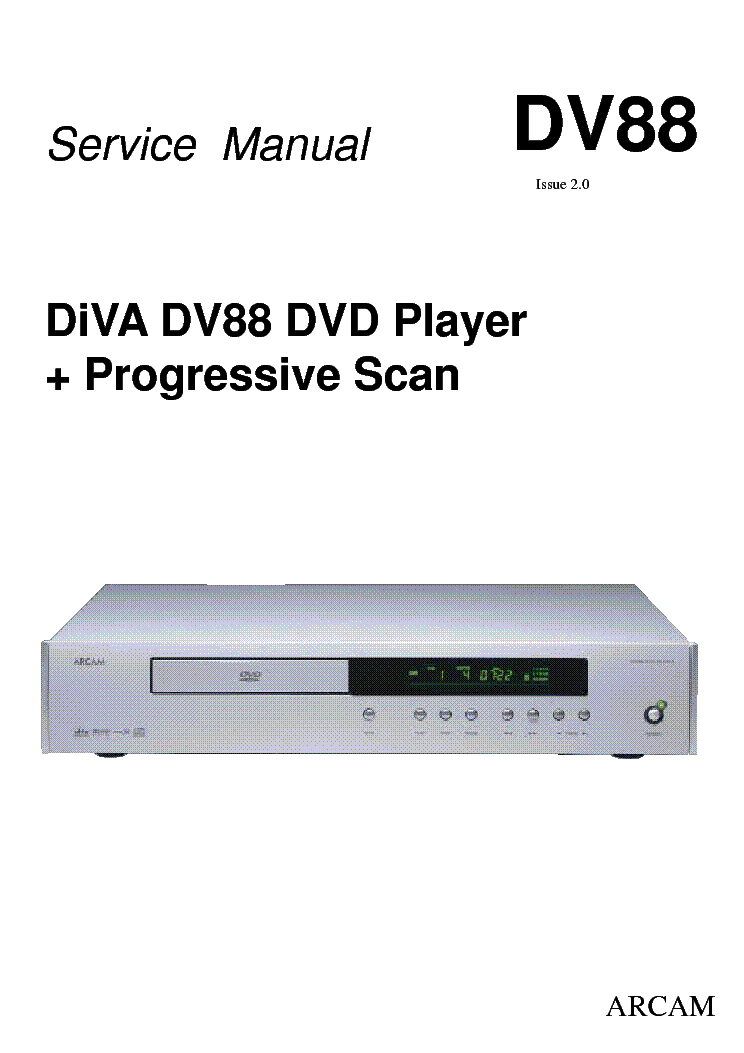 arcam dv88 dvd player issue2 0 service manual download schematics rh elektrotanya com Quick Reference Guide Clip Art User Guide