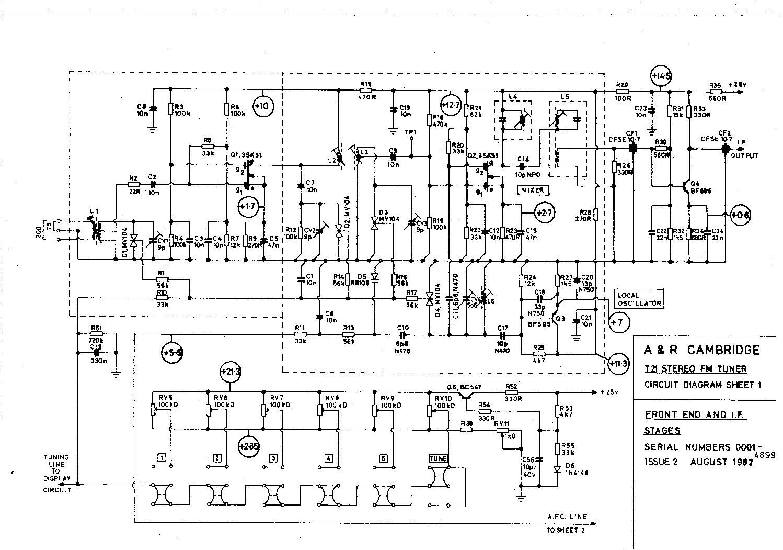 Arcam Alpha 9 Circuit Diagram