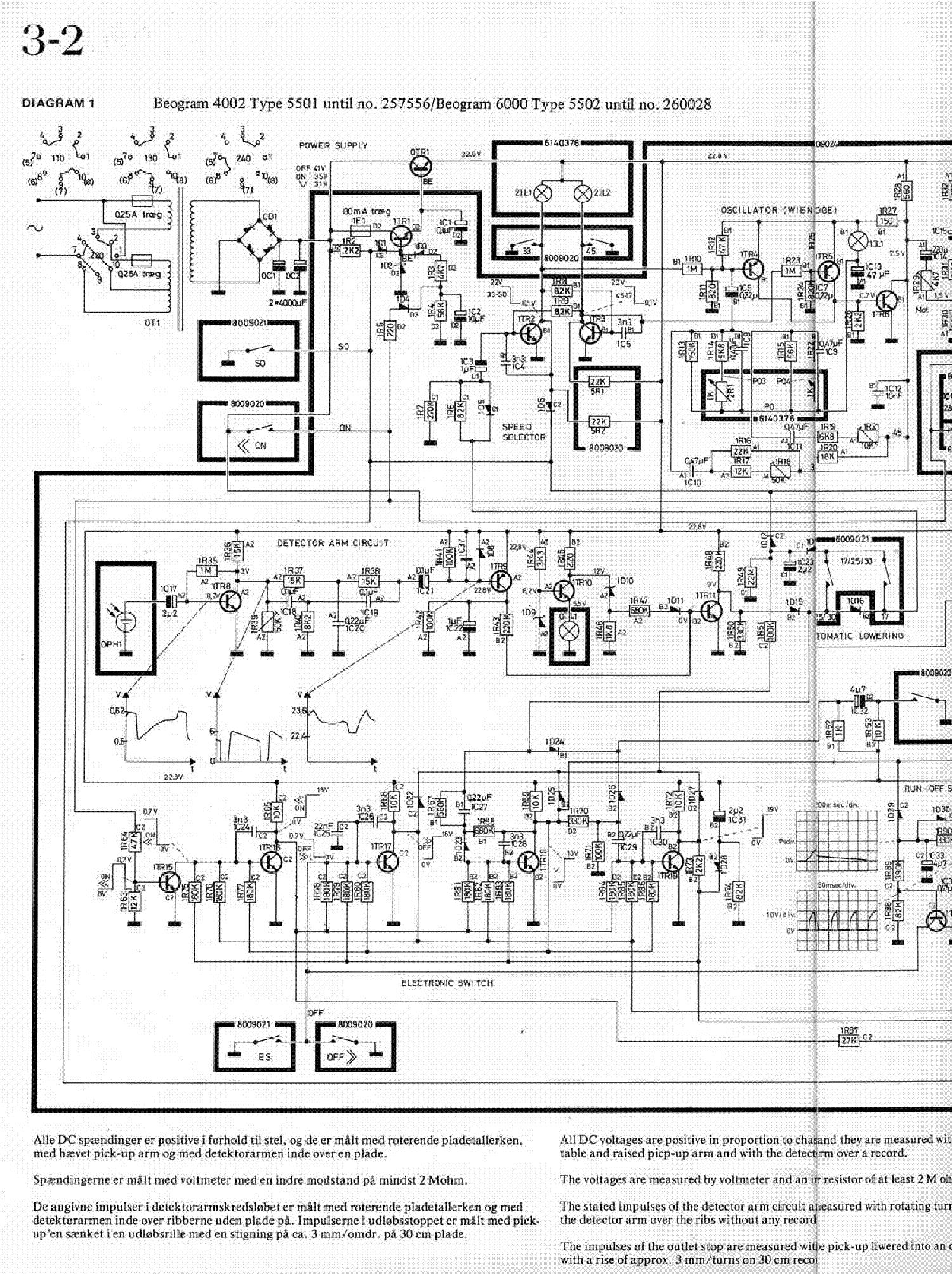 Bang  U0026 Olufsen Beogram 4002 Service Manual