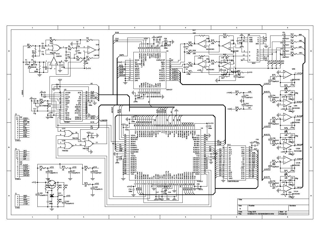 BBK AB209 Схема ресивера BBK