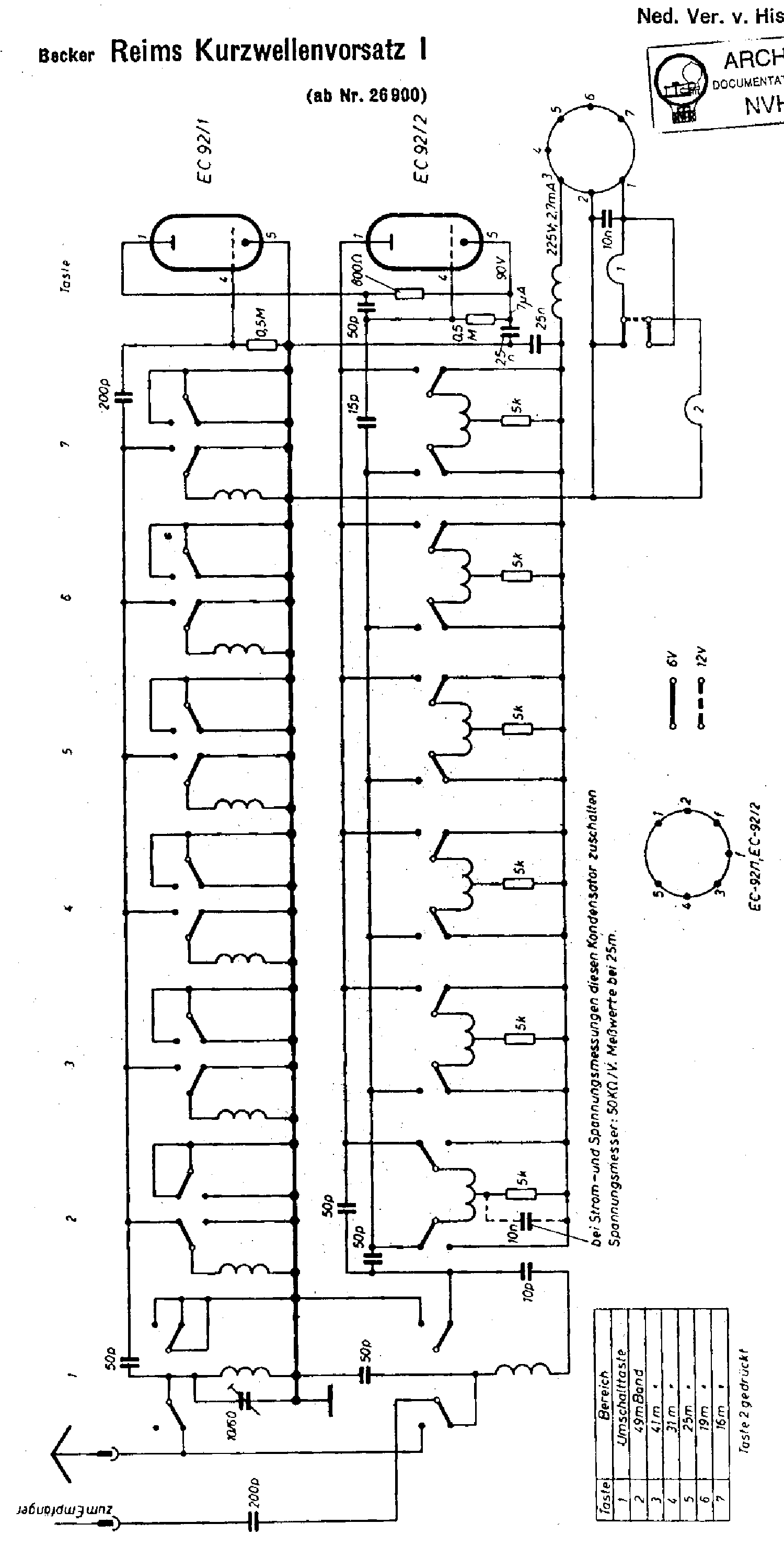 becker grand prix 1960 service manual download  schematics