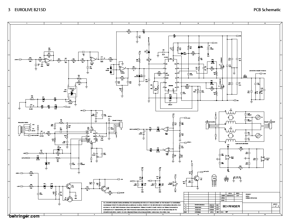 behringer_b215d_eurolive_sch.pdf_1 Schematic Diagrams Behringer Protect Circut on