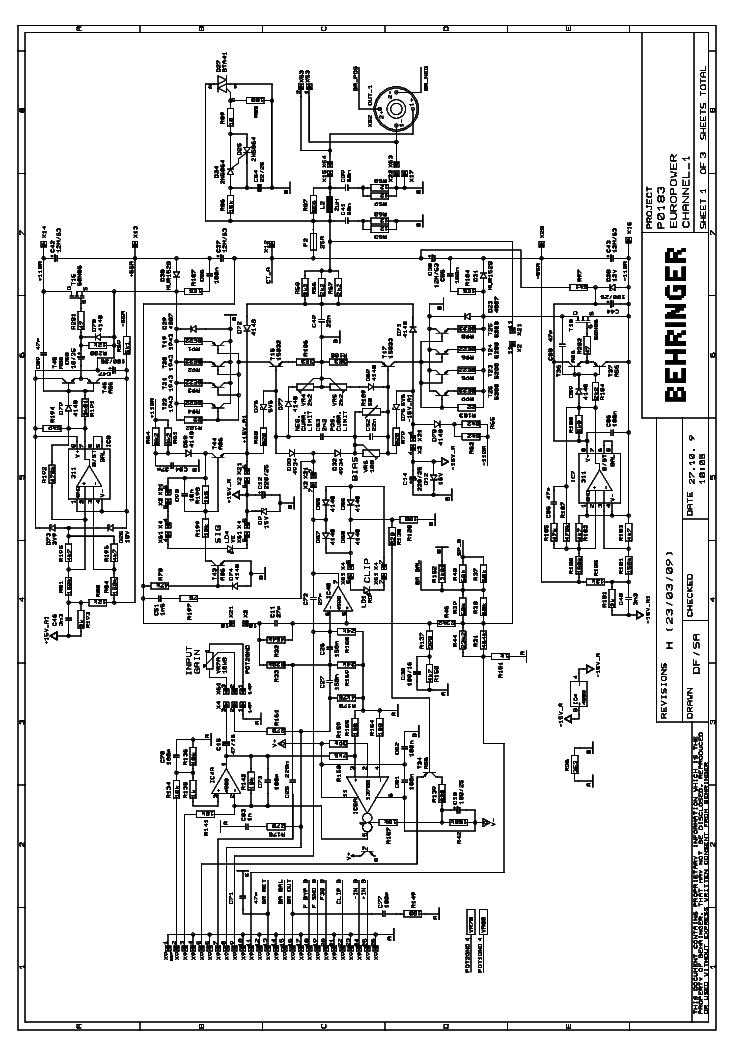 behringer pmp6000 sch service manual download  schematics