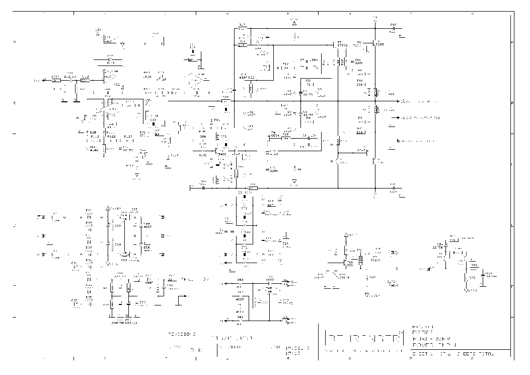 behringer p2502 poweramp-module sch service manual ... behringer amp schematic 15 amp schematic wiring diagram