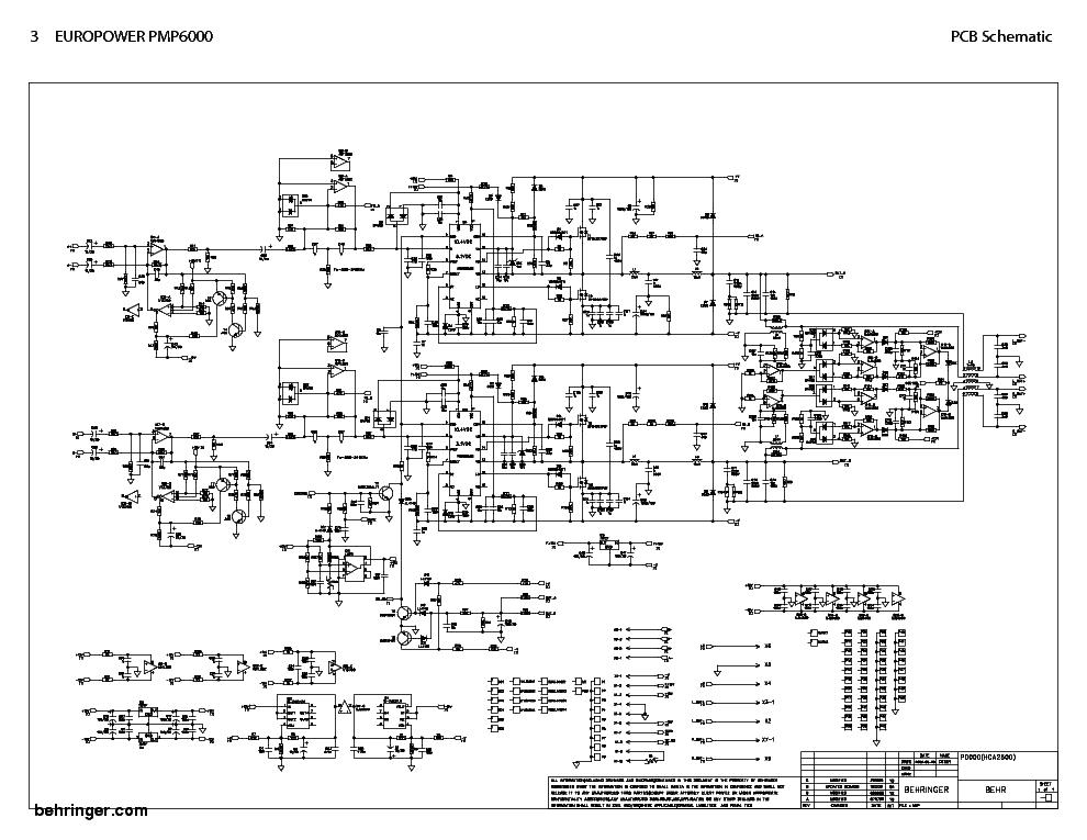 Behringer ep2000 europower схема