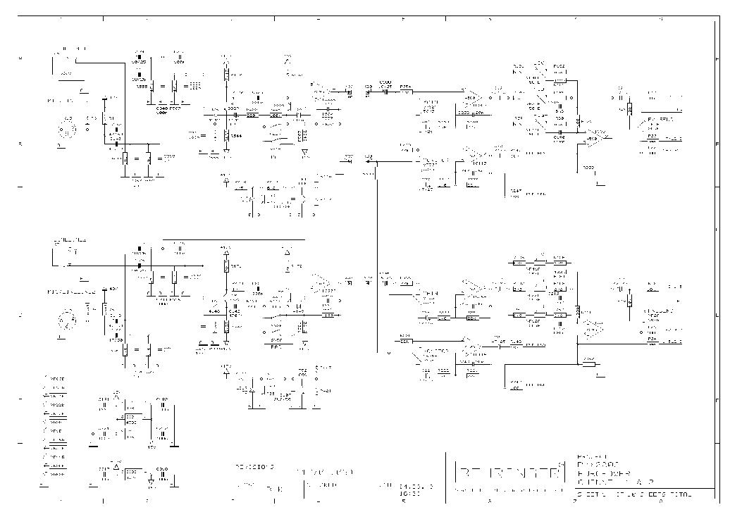 Behringer Pmx2000 Service Manual Download  Schematics