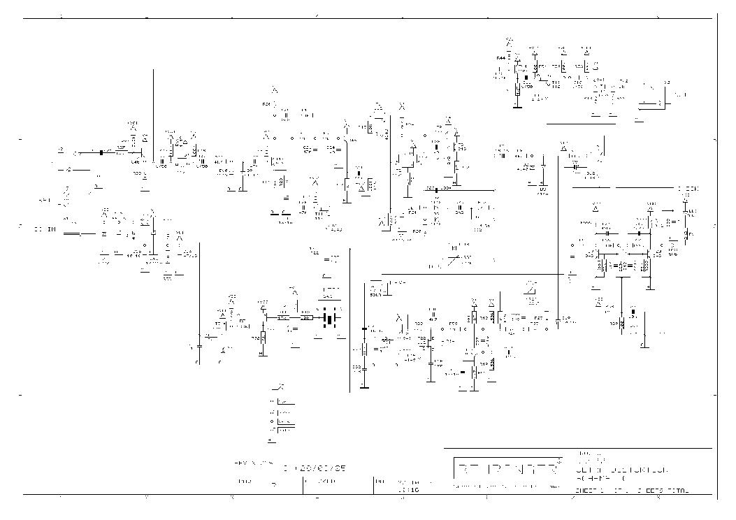 Behringer Ultra Distortion Ud100 Schematics Rev C Service