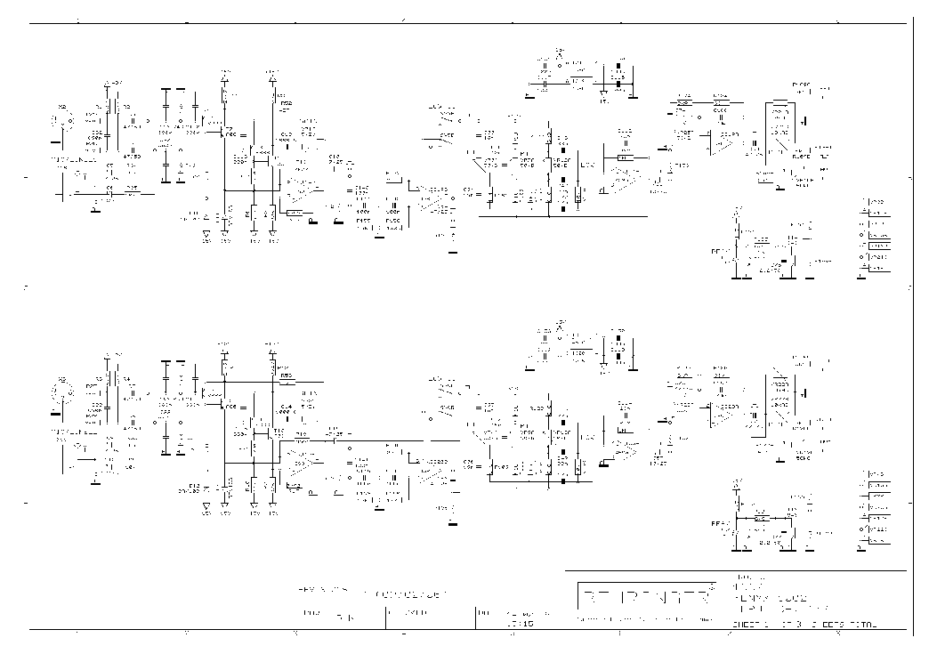 Behringer Src2496 Ultramatch Pro Service Manual Free Download  Schematics  Eeprom  Repair Info