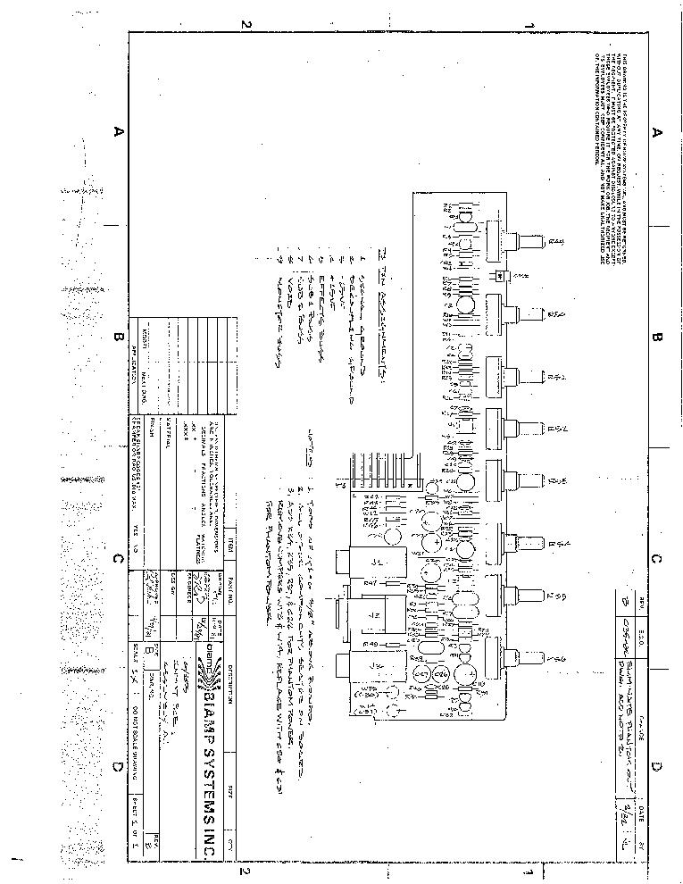 Biamp 83b Series Mixer Sch Service Manual Download