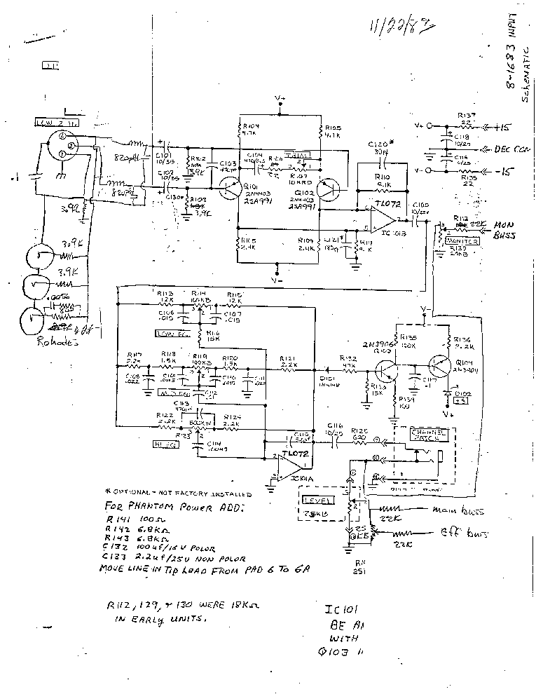 Biamp 8 1683 Mix Sch Service Manual Download Schematics Eeprom
