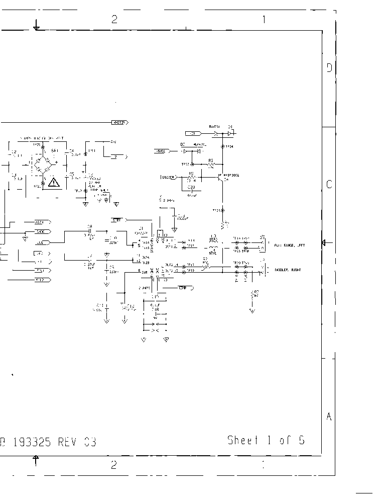 bose wave radio_sch_193325_rev.03.pdf_1 bose 802 802c 802w ii 302b sm service manual download, schematics bose wave radio schematic diagram pdf at webbmarketing.co
