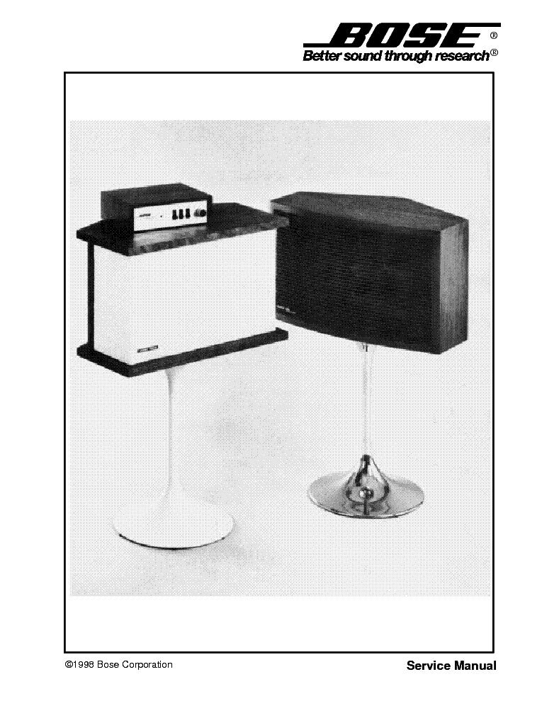 bose 901 1 2 service manual download schematics eeprom repair rh elektrotanya com Bose 901 Vi Bose 901 Speakers