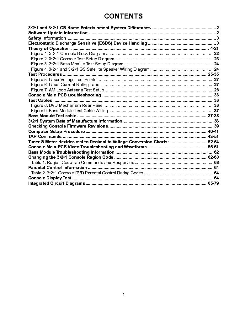 bose av321 troubleshooting service manual (2nd page)