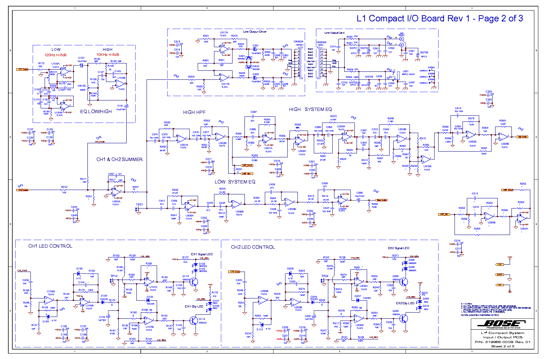 Bose Service Schematics - Today Wiring Schematic Diagram