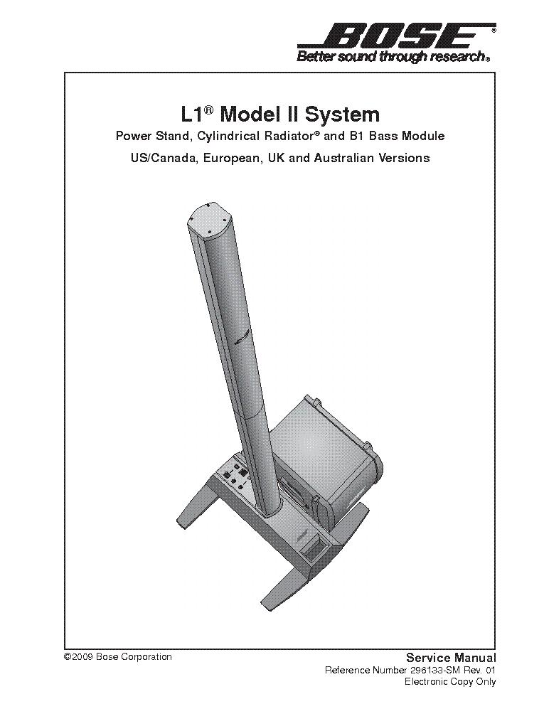 Bose Ps18 Ps28 Ps48 Sm Service Manual Download  Schematics