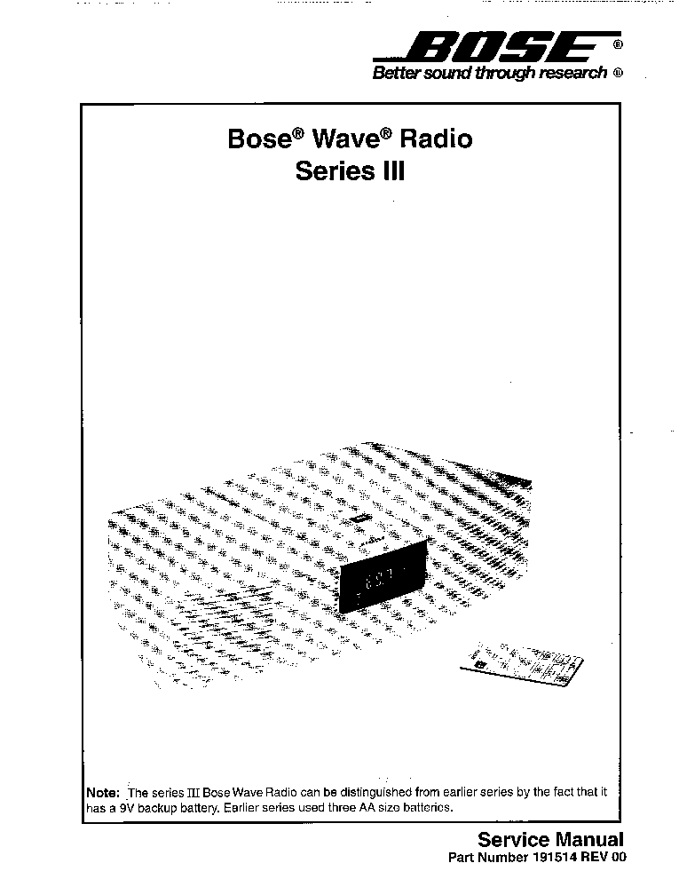 bose_wave_radio_series_iii.pdf_1 bose wave radio series iii service manual download, schematics bose wave radio schematic diagram pdf at webbmarketing.co