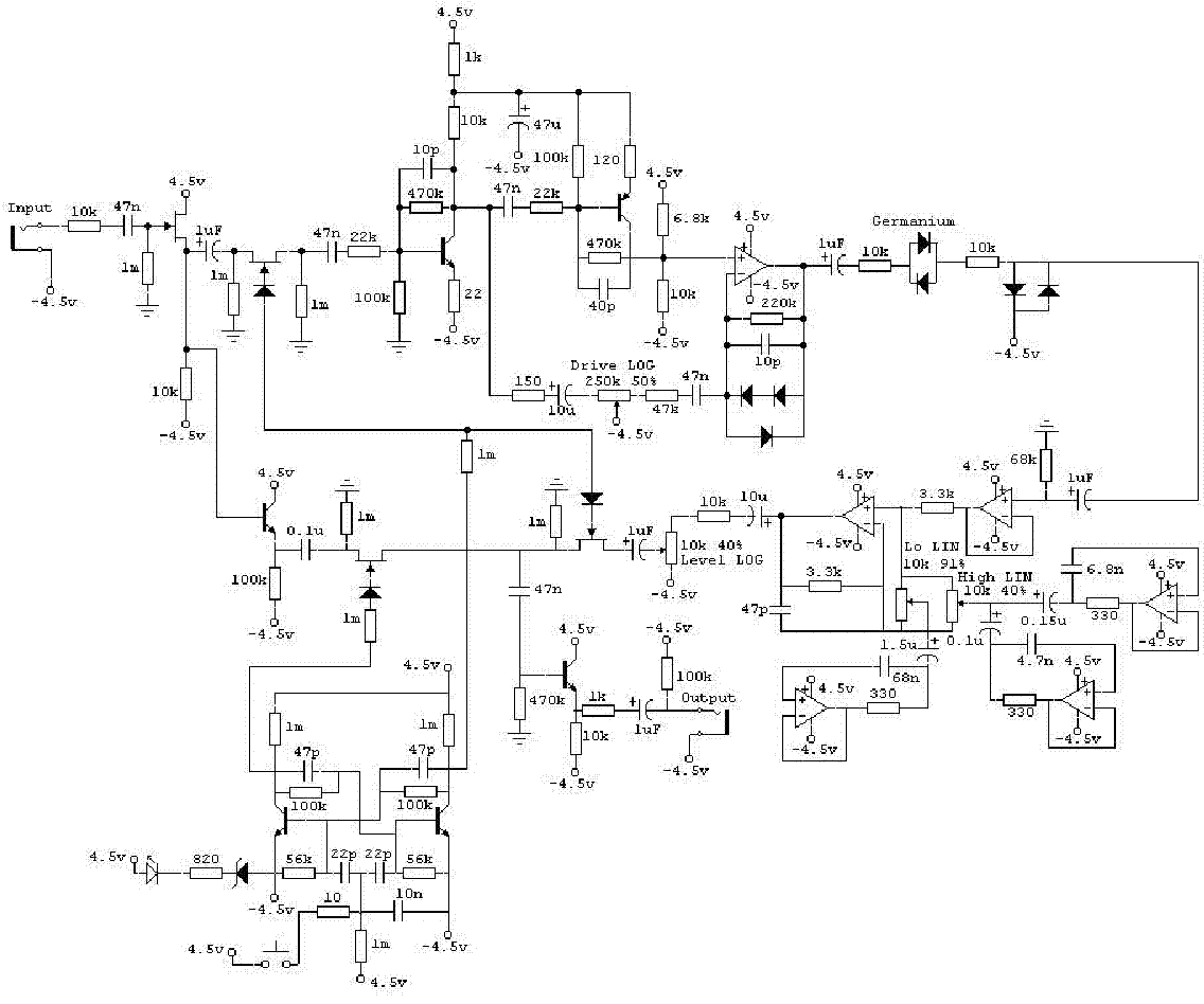 BOSS HM3 HYPERMETAL DIST SCH Service Manual download ... Boss Cs Schematic on boss cs-2 nashville, boss bf-3, boss oc-3,