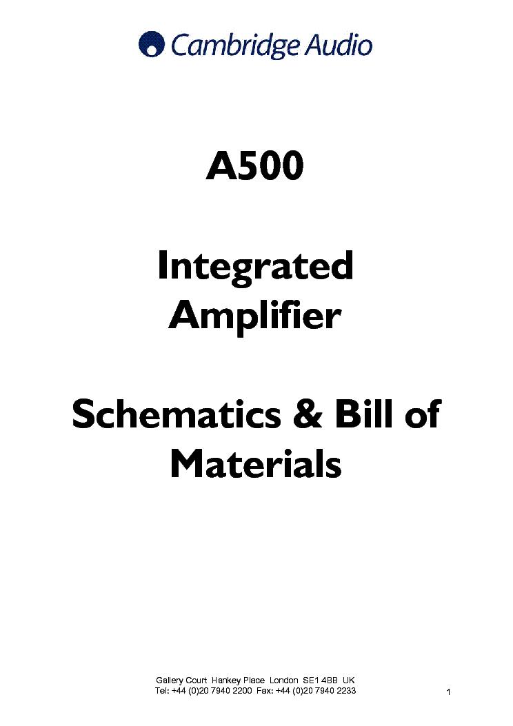 Cambridge audio azur 740a service manual download, schematics.