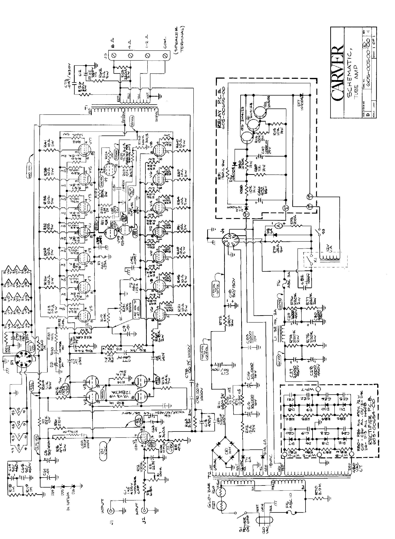 Carver Electrical Ac Wiring Diagram 35 Wiring Diagram