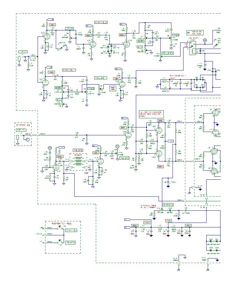 carvin guitar amp schematics repair manual Carvin R600 Schematic