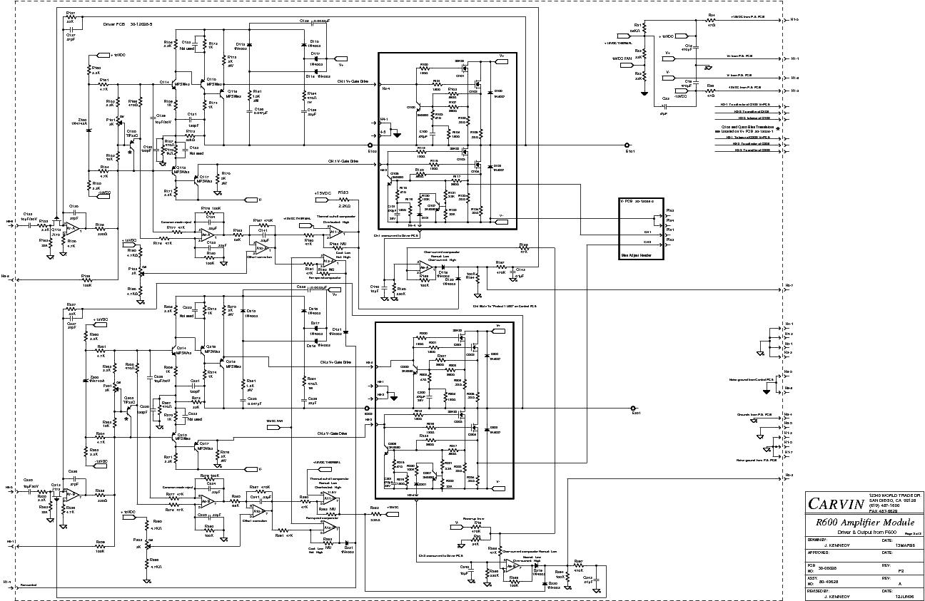 carvin wiring schematics
