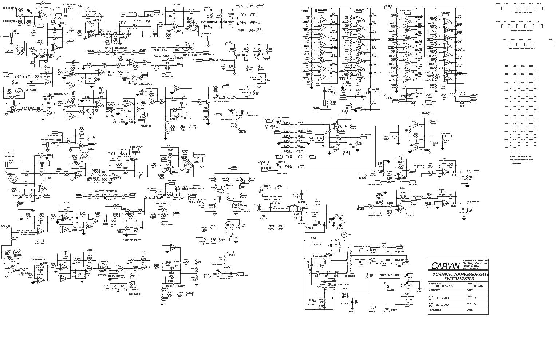 CARVIN CG200 COMPRESSOR SCH service manual (1st page)