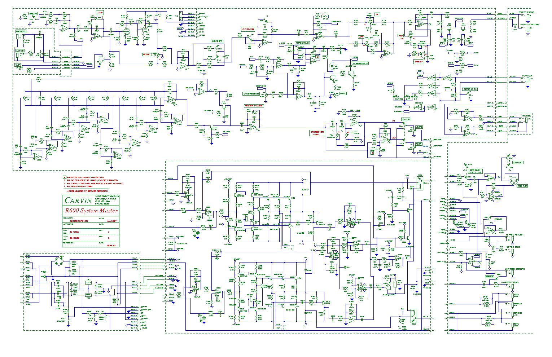 Carvin R600 R1000 Revd Sch Service Manual Download Schematics Vintage 16 Schematic 1st Page