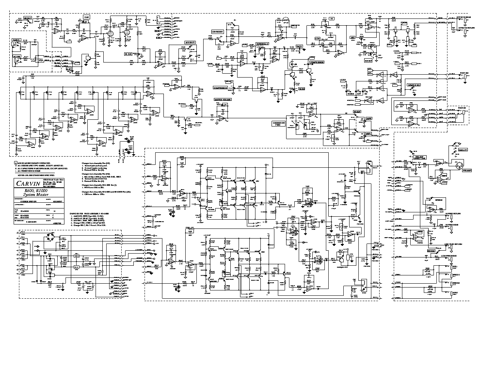 Carvin Legacy Schematic Electrical Circuit Electrical Wiring Diagram
