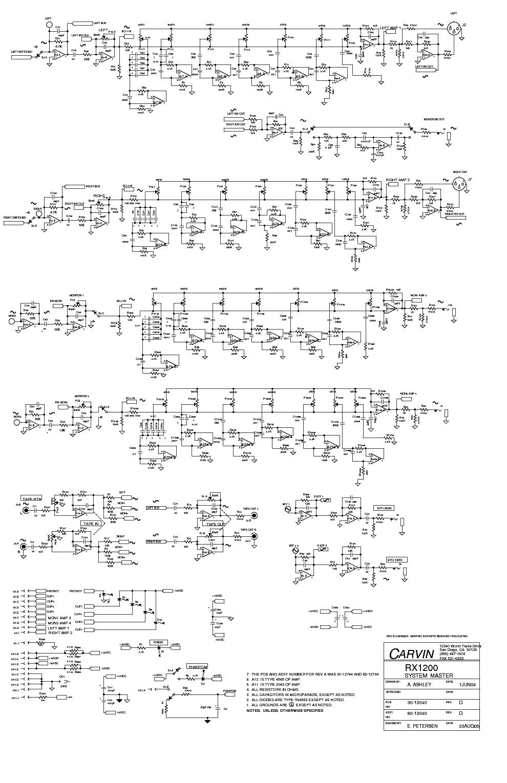 Carvin Vintage 16 Schematic Wiring Library Sch Service Manual Download Schematics Eeprom