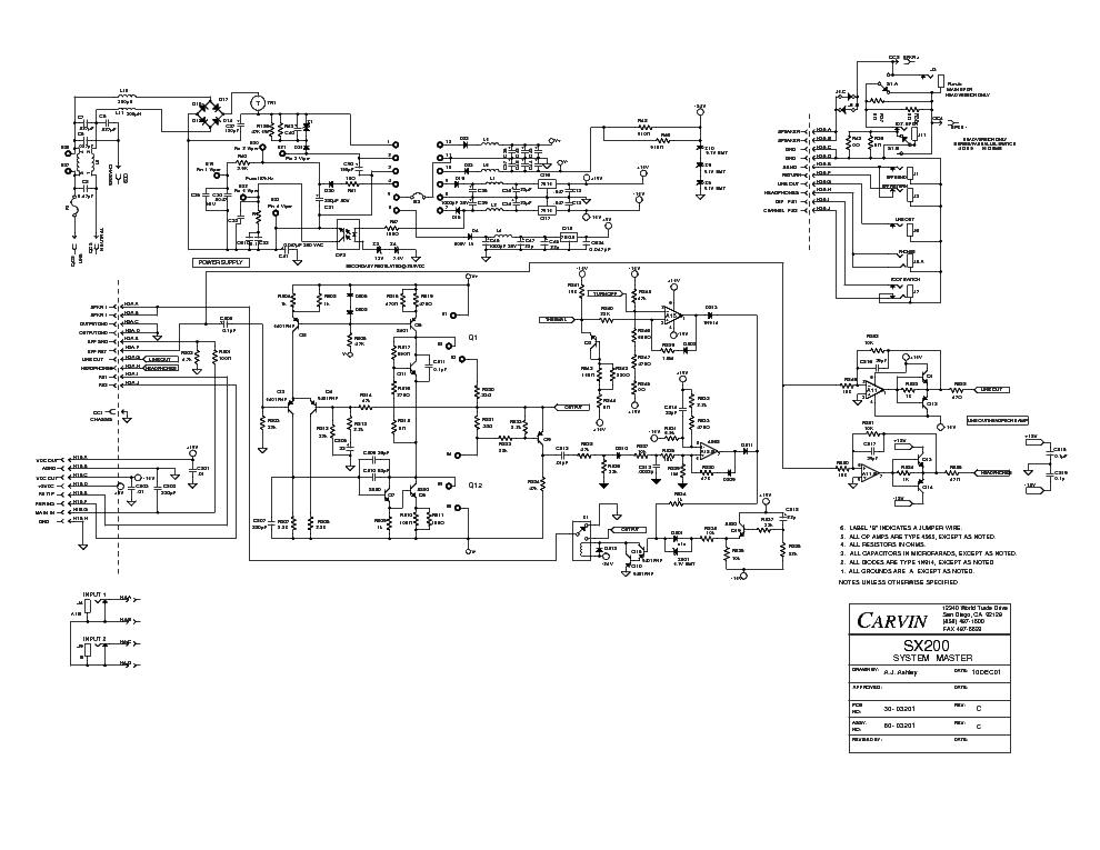 carvin wiring schematics electrical diagrams forum u2022 rh woollenkiwi co uk
