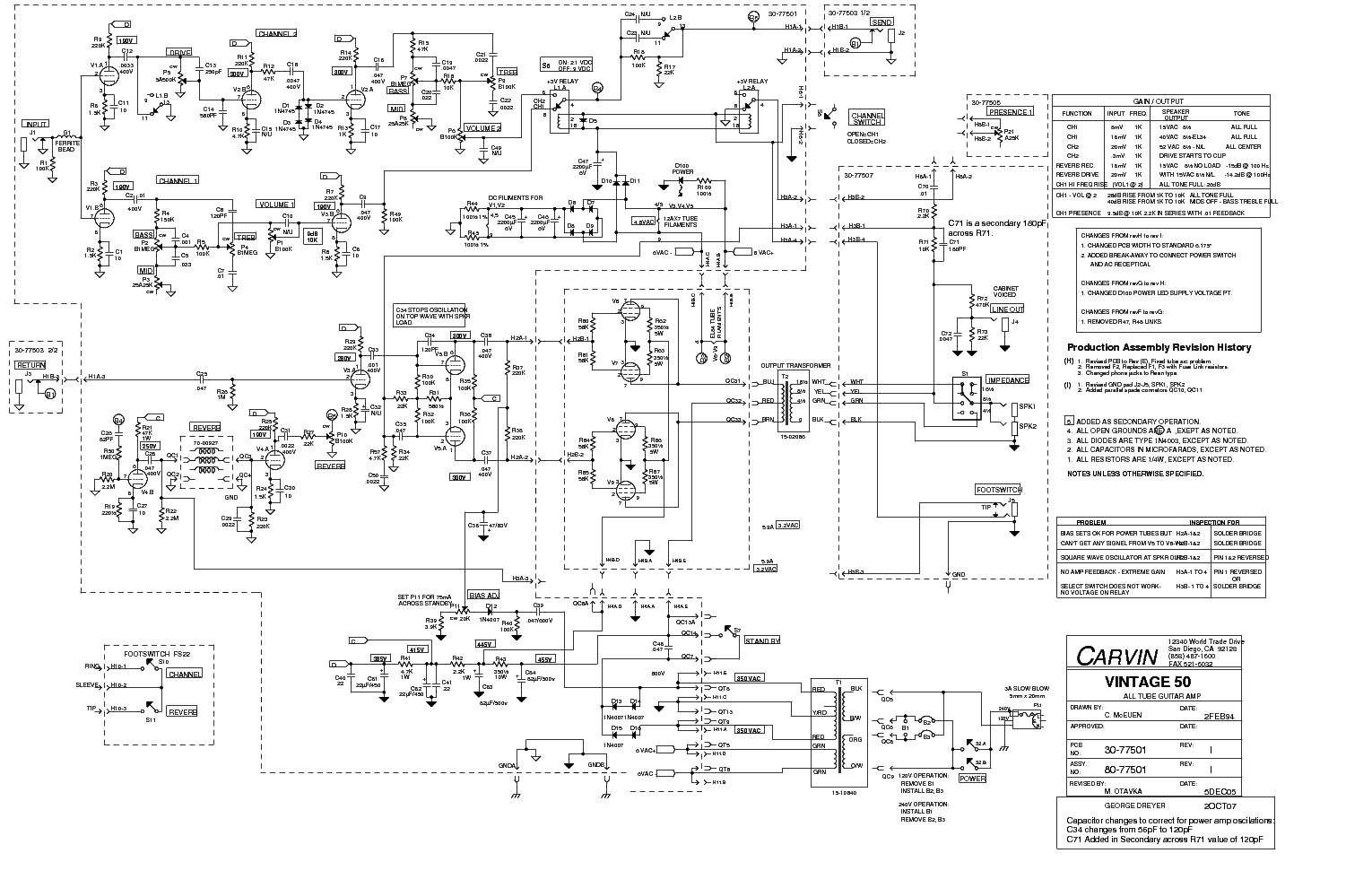 Carvin Humbucker Guitar Wiring Diagram Electrical Schematics Fender Strat Trusted Diagrams U2022 Stratocaster Pickup