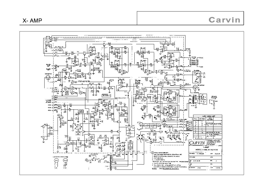 carvin x amp sch service manual download schematics eeprom repair rh elektrotanya com carvin legacy 3 schematics carvin mixer schematics