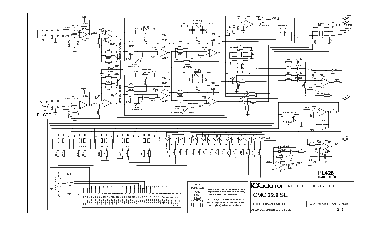 Ciclotron Prc 200 Sch Service Manual Download Schematics