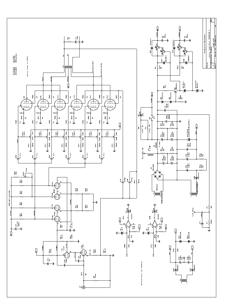Premier Amp Schematic Electrical Circuit Electrical Wiring Diagram