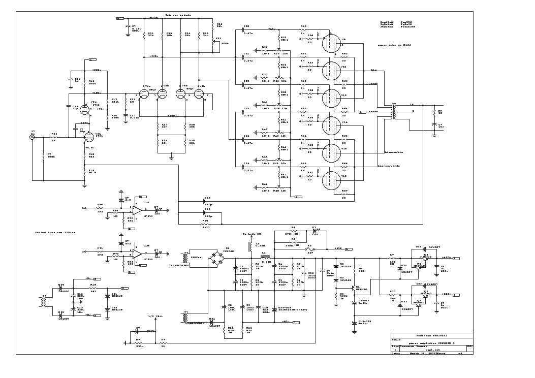 premier amp schematic 15 amp schematic wiring diagram conrad johnson premier one service manual download ...
