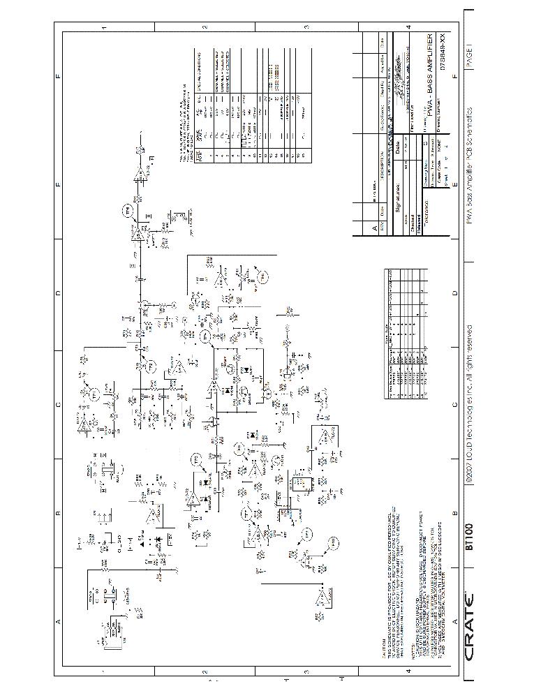 crate bt100 sch and parts service manual download schematics rh elektrotanya com