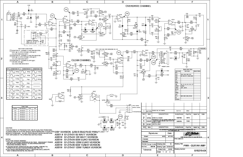 ... crate gfx65t gfx 120t sch service manual 1st page ...