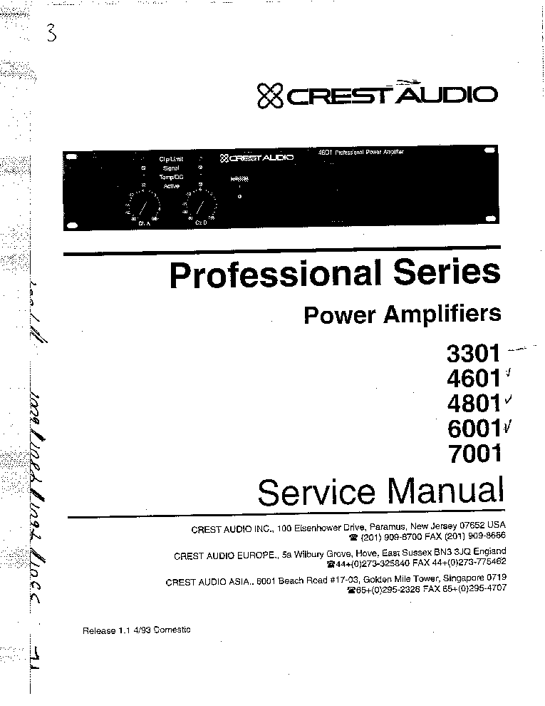 CREST 3301,4601,4801,6001,7001 SCH service manual (1st page)