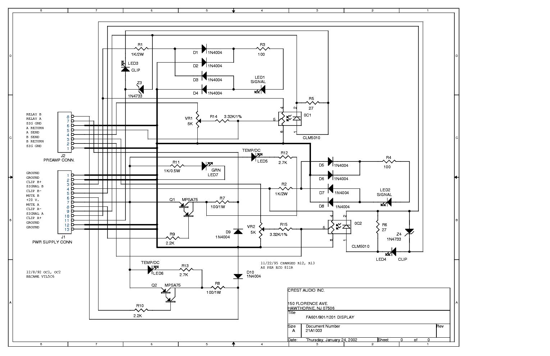 crestaudio fa2401 service manual download schematics eeprom rh elektrotanya com Simple Schematic Diagram Schematic Wiring Diagram