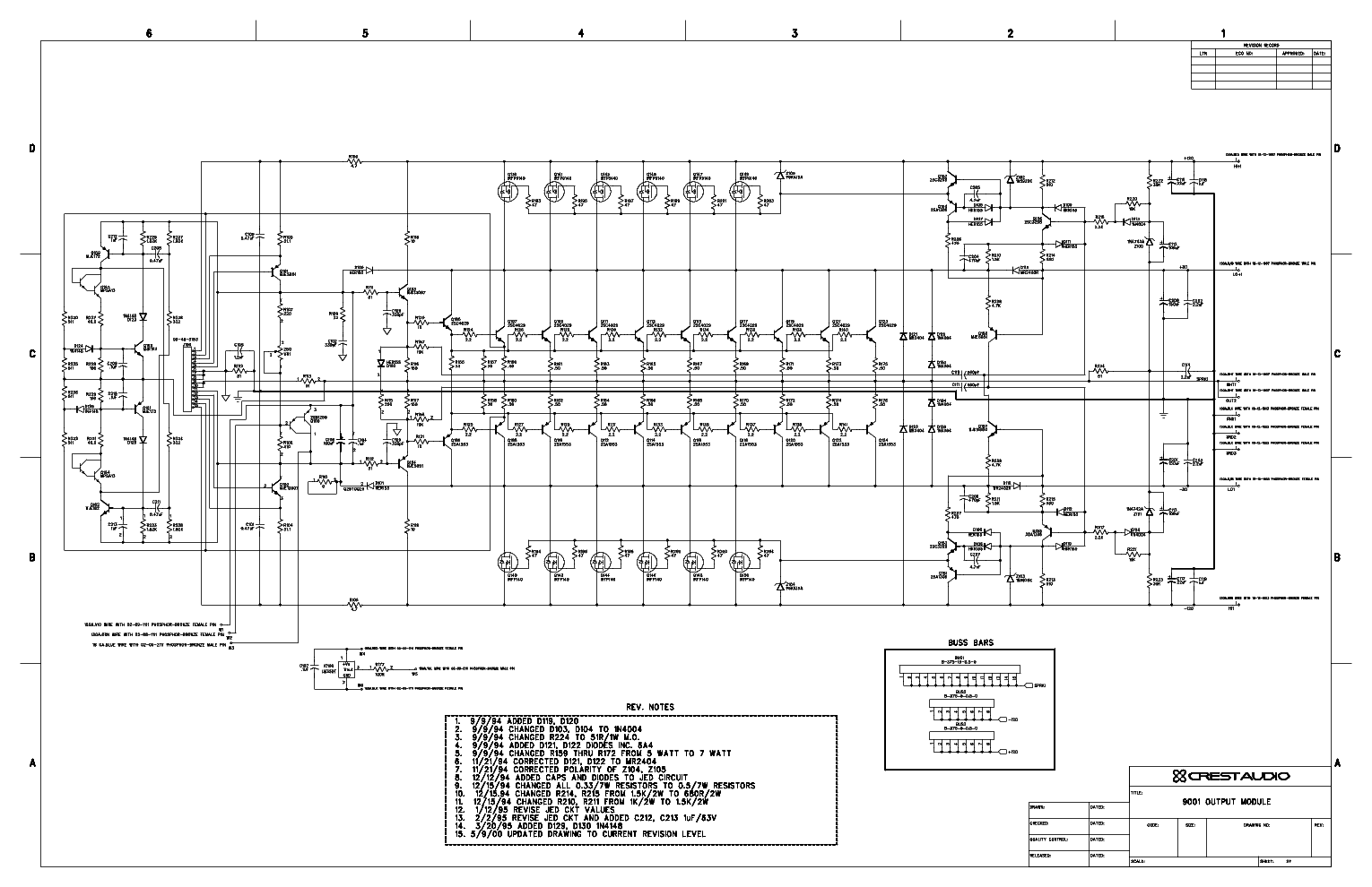Superb Crest Audio Schematic Diagrams Wiring Cloud Hisonuggs Outletorg