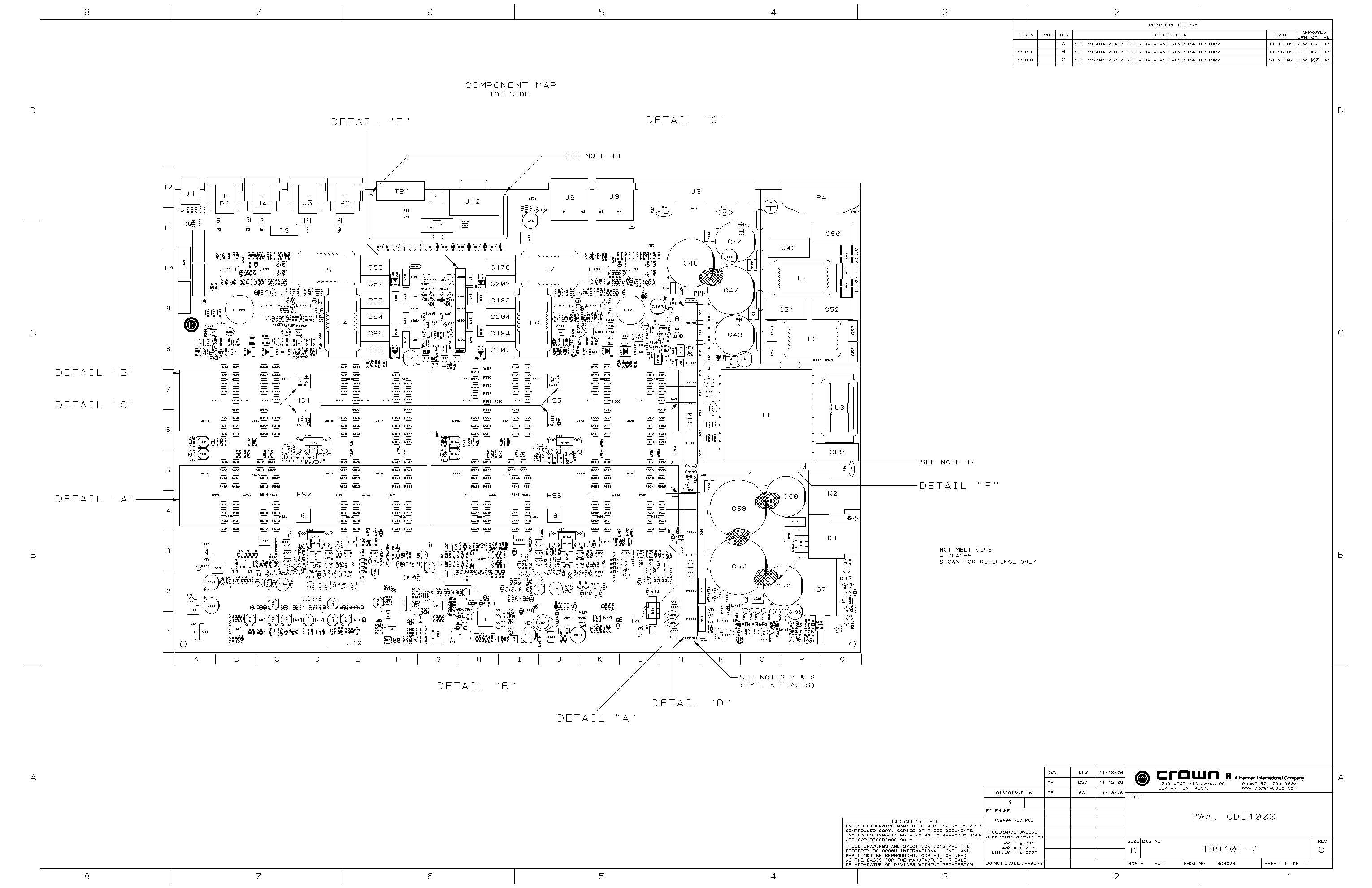 Crown Ce2000 Amplifier Circuit Diagram Search For Wiring